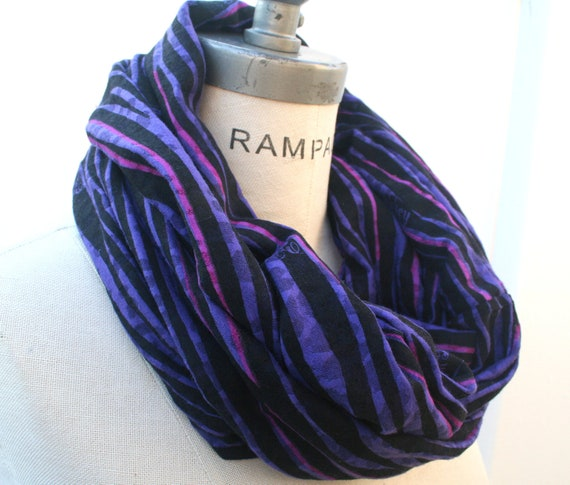 purple scarf womens infinity scarves scarfs gift for
