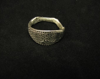 SALE*Fish Spoon Ring / Sterling Silver