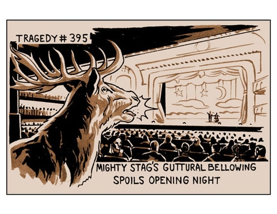 Tragedy 395: Mighty Stag Print