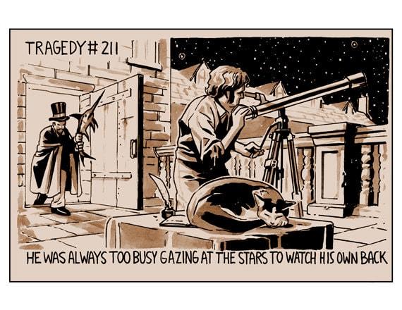 Tragedy 211: Telescope Print