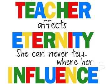 Teacher Appreciation-  digital printable