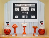 Printable 36X24 Basketball Scoreboard...by Party Like Paula