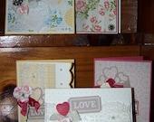 Valentine's or Wedding Card Kit