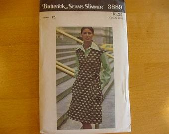 VINTAGE 1970s Butterick Pattern 3889 Misses' Jumper  Size 12  Bust 34  Uncut