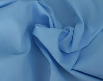 Baby Blue Swiss Pique, 1 Yard