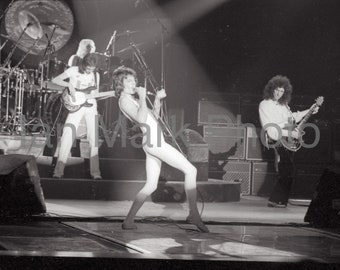 Queen Rock Band  8x12 1977 Photo                                                Image registered at the United States Copyright Office