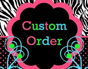 Custom Matching Hairbow