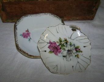 Small Porcelain Saucer Trinket Dish
