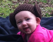 4-12 mo. Star Wars' Princess Leia-Inspired Baby Hat   - Made-to-Order