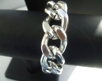 Ultra Bold: Silver Chunky Bracelet, Chunky jewelry, Chunky bracelet