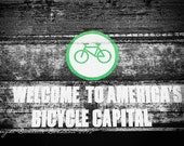 Portland Photo America's Bicycle Capital--Fine Art Lomography 8x12