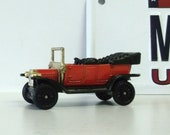 Miniature Type T Ford, Vintage Tomica, 1977 Tomy, No. F11, Tiny Car, Toy Car, Collectible Car.