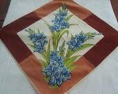 Flowered handkerchief