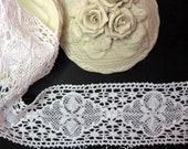 Cotton 2 3/4 inch White Lace