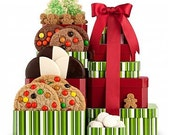 Christmas Cookie Gift Tower
