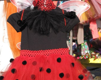 Halloween Lady Bug or Bumble Bee costume