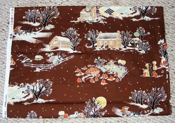 Alexander Henry Fabric  Land of Autumn - 3 yards