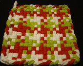 RESERVED FOR TERRY - 2 sets of Potholders for Charity (4 total) - custom colors