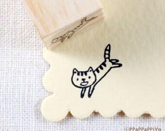 Cute Cat Rubber stamp