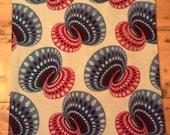 LULA African fabric tote bag