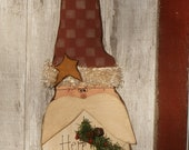 PRICE REDUCED! Santa Wall or Door Hanging