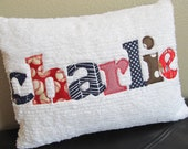 """Name Pillow for Toddler, Baby or Teen 12"""" x 16"""""""