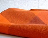 Danish Tablecloth - Shades of Orange - From the Early 60s