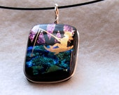 """Fairy Necklace """"Fishing Fairy 194"""""""