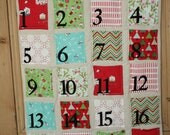 Christmas Advent Calendar- 24 pockets to stash those countdown treats. Personalised