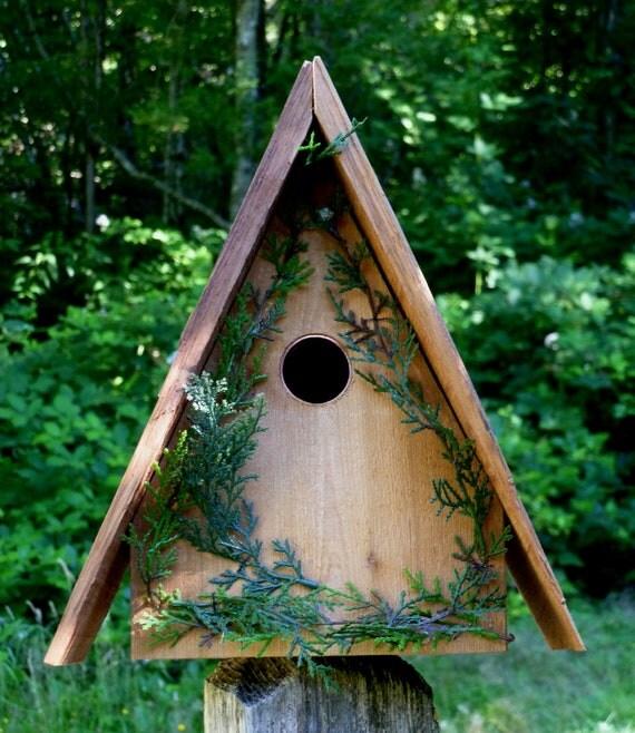 Alpine Cottage, a Cedar Woodlands Bird House (02)