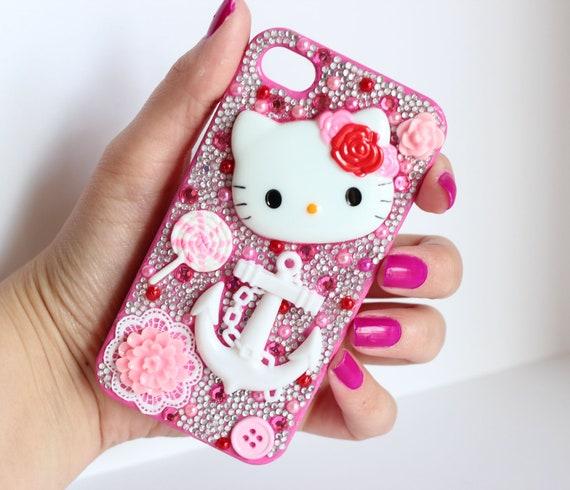 Hello Kitty Decoden iPhone 4 Case