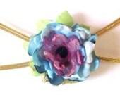 Golden girl flower headband