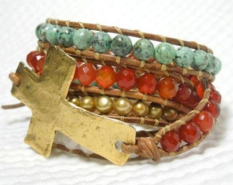 Wrapped in Faith Wrap Bracelet