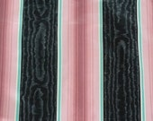 Fabric Archives of Scalamandre for Kenmill Cotton Pink and Black