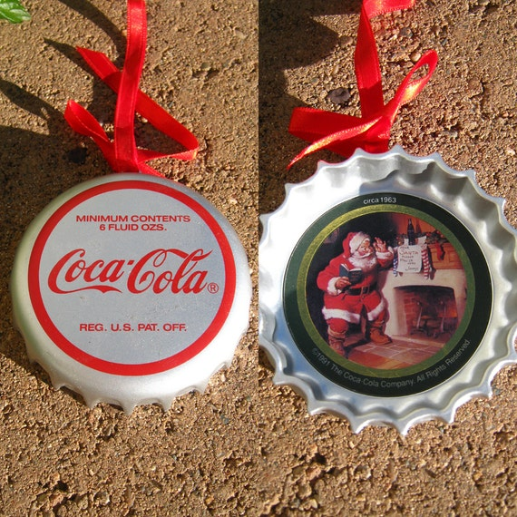 Coke christmas ornament vintage coca cola collectible s