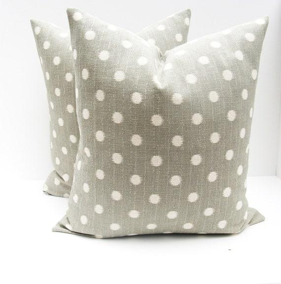 Gray Throw Pillow Covers : GRAY PILLOW Accent PillowDecorative pillow Covers Pillow