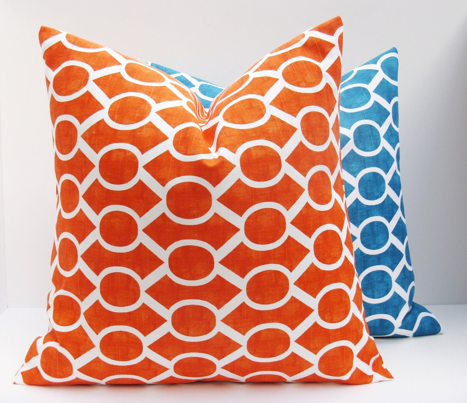 Orange Decorative Pillows Couch : Decorative Throw Pillows Covers .Orange Pillow by EastAndNest