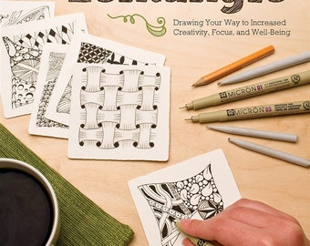 The Joy of Zentangle featuring artisits Suzanne McNeill, Sandy Steen Bartholomew and Marie Browing, CZT's