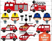 Digital Firefighter and Firetruck ---- Personal and Small Commercial Use ---- BB 0404
