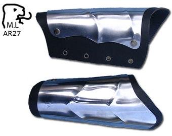New bracer Medieval Warrior knight stainless steel Armor AR27
