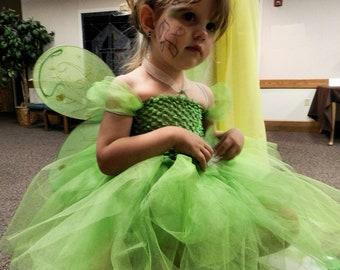 Dazzing Tinkerbell Tutu Costume 2-4T