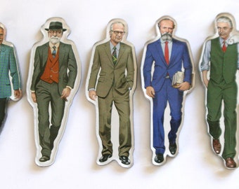 Set of 7 Researchers Magnets