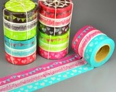 Bunting and Heart Washi Tape