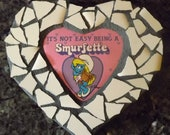 Mosaic smurfette magnet