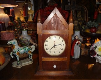 Handsome steeple clock.....