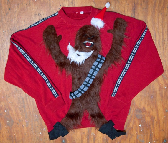 Items similar to Chewbacca Christmas Sweater on Etsy
