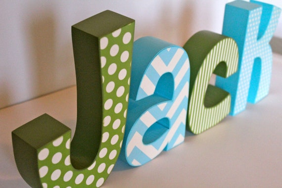 Unavailable listing on etsy for Baby name decoration ideas