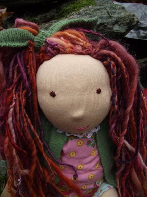 Custom for Allie-15-16 inch Waldorf Doll