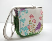 Messenger Bag, Small Messenger, Cross Body Bag, Purse, Choose Your Own Fabric