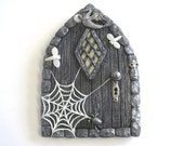 Gothic Style Scary Fairy Door